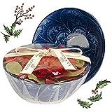 Bowl de porcelana com potpourri perfumado - Natale