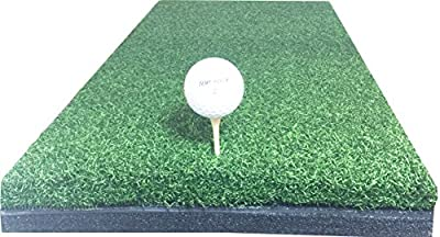 """10"""" x 24"""" Golf Chipping Driving Range Practice Hitting Mat Holds A Wooden Tee"""