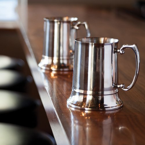 True Fabrication Admiral Stainless Steel Beer Stein by Viski