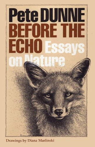 Download Before the Echo: Essays on Nature (Corrie Herring Hooks) pdf epub