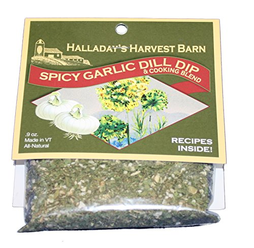 Halladays Spicy Garlic Dill Dip