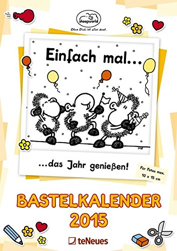 Bastelkalender sheepworld 2015