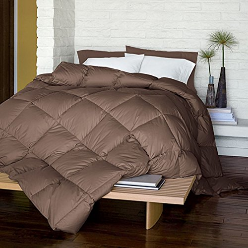 LaCrosse Down Comforter, Medium Warmth, Full, Walnut