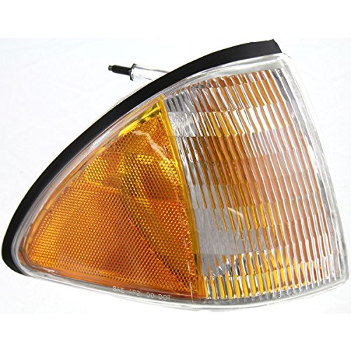 DAT AUTO PARTS Side Marker Light Replacement for 87-93 Ford Mustang Front Right Passenger Side FO2551103 ()