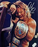Chris Jericho Wcw Wwe Signed Autograph 8x10 Photo W/ Proof - Autographed Wrestling Photos