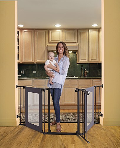 Dreambaby Denver Adapta Gate Black Mesh product image