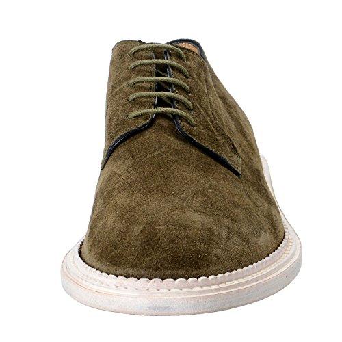 Marc Jacobs Mens Olivgröna Nubuck Läder Oxfords Skor Oss 10 Den 9 Eu 43