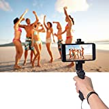 Fantaseal iPhone Cell Phone Hand Grip Holder, Smartphone Handle Stabilizer Phone Holder Support Selfie Stick for iPhone X 8+ 8 7+ 7 6S+ 6S 6+ 6 5 5SE 4 Galaxy Note 8 S8 etc Landscape + Portrait Mode
