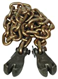 Porto-Power B97662 6' Chain with 2 Claw Hooks, 4'' Height, 4.5'' Width, 7'' Length