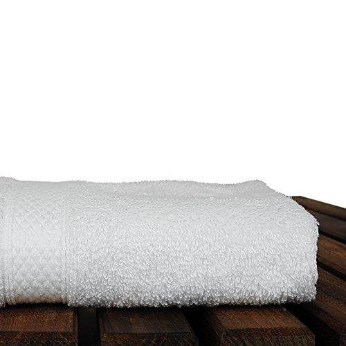 BC BARE COTTON Luxury Hotel & Spa Towel Turkish Cotton Rayon Bath (Washcloth - Set of 6, White) by BC BARE COTTON (Image #4)