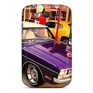 Hot Style TZKoXsi2530sBxBH Protective Case Cover For Galaxys3(american Muscle)