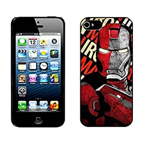 Iron Man ironman Hard Cover Case for iPhone 5 5s case