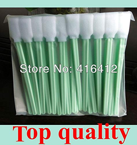 Printer Parts 1000 pcs Print Head Cleaning Swabs with Foam tip by Yoton