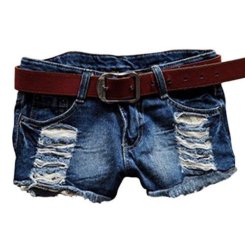 Yiilove Womens Ladies Tassel Shorts product image
