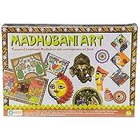 Ekta Traditional and Contemporary Madhubani Art Set, Multi Color