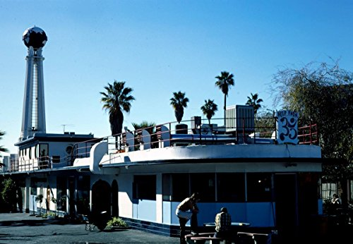 - Roadside America Photo Collection | 1991 Crossroads of The World, Sunset Boulevard, Hollywood, California | Photographer: John Margolies | Historic Photographic Print 30in x 24in