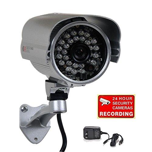 VideoSecu 700TVL Bullet Security Camera Built-in 1/3