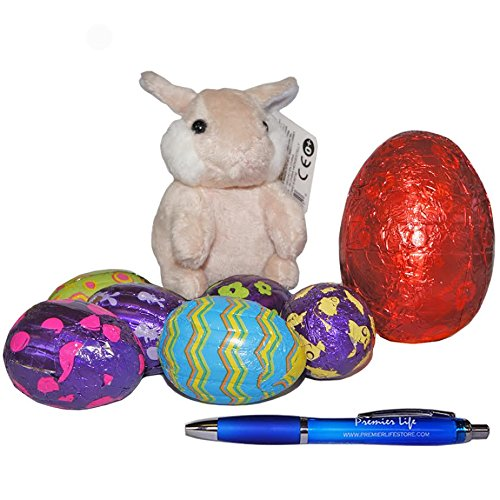 Easter Bunny and Eggs Treat Box