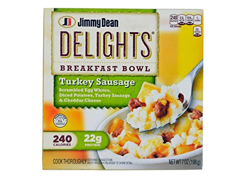 Jimmy Dean D-lights, Turkey Sausage Bowl, 7.0