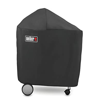 Weber 7151 Grill Cover with Storage Bag for Performers with Folding Table
