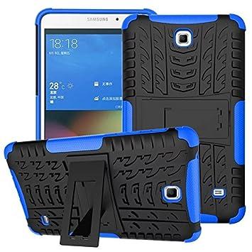 XITODA Hülle für Samsung Galaxy Tab 4 7.0, Hybrid TPU Silikon & Schwer PC Cover Schutzhülle für Samsung Galaxy Tab 4 7.0 SM-T