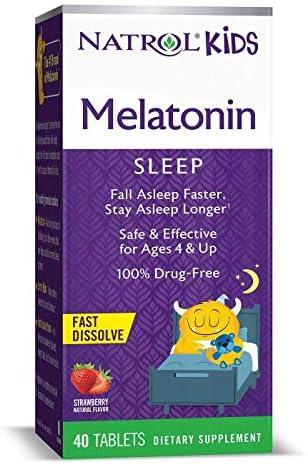 Natrol Kids Melatonin Dissolve Tablets