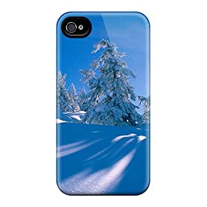 Cases Covers Forest Shadows On Hill In Winter/ Fashionable Cases For Iphone 6