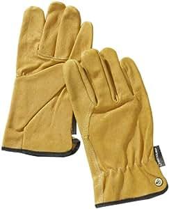 Dunlop 360111 - Guantes para conductores (piel, categoría 2, EN 388/ 3021), color amarillo