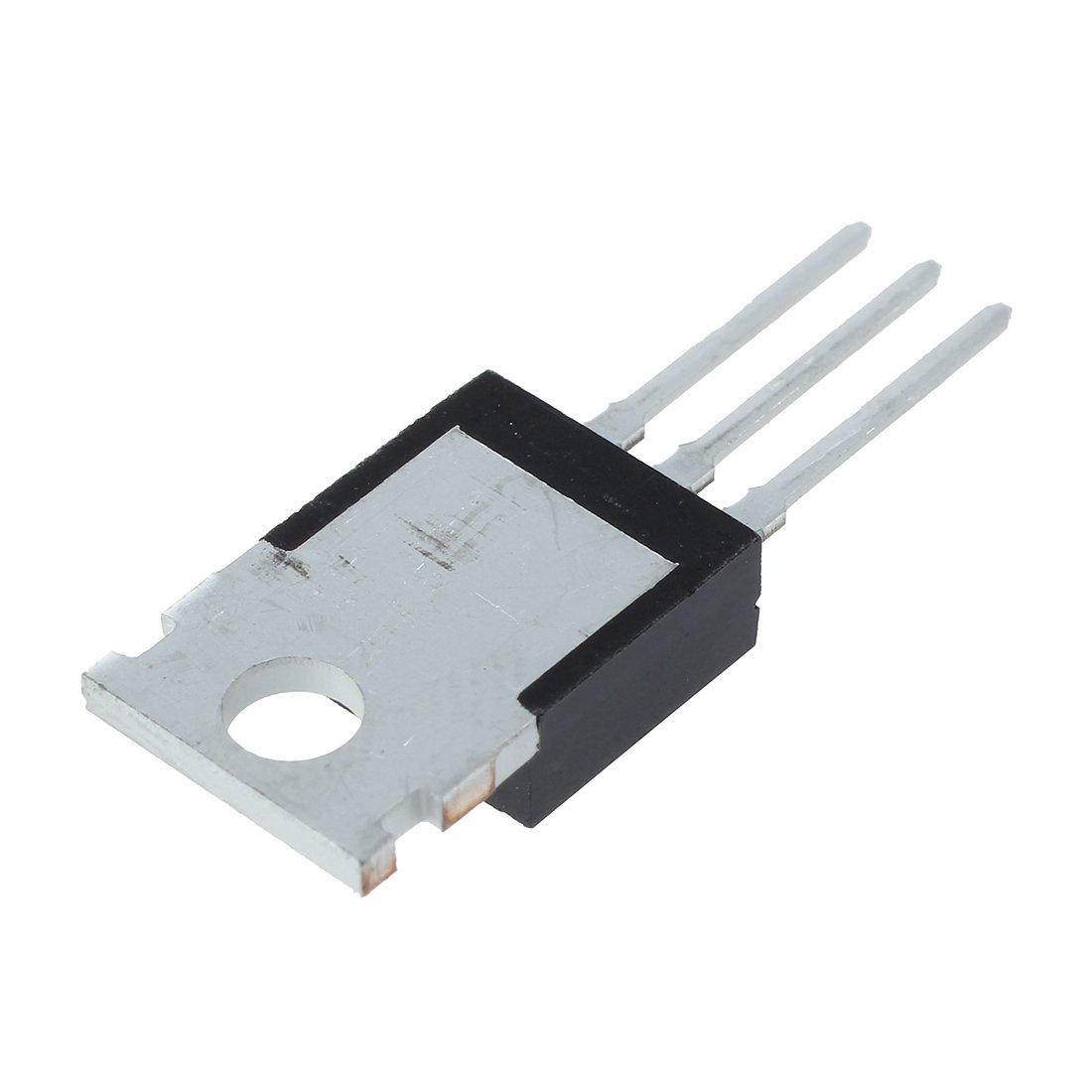 SODIAL(R) 10pcs IRFZ44N IRFZ44 Power Transistor MOSFET N-Channel 49A amp 55V 015285A2
