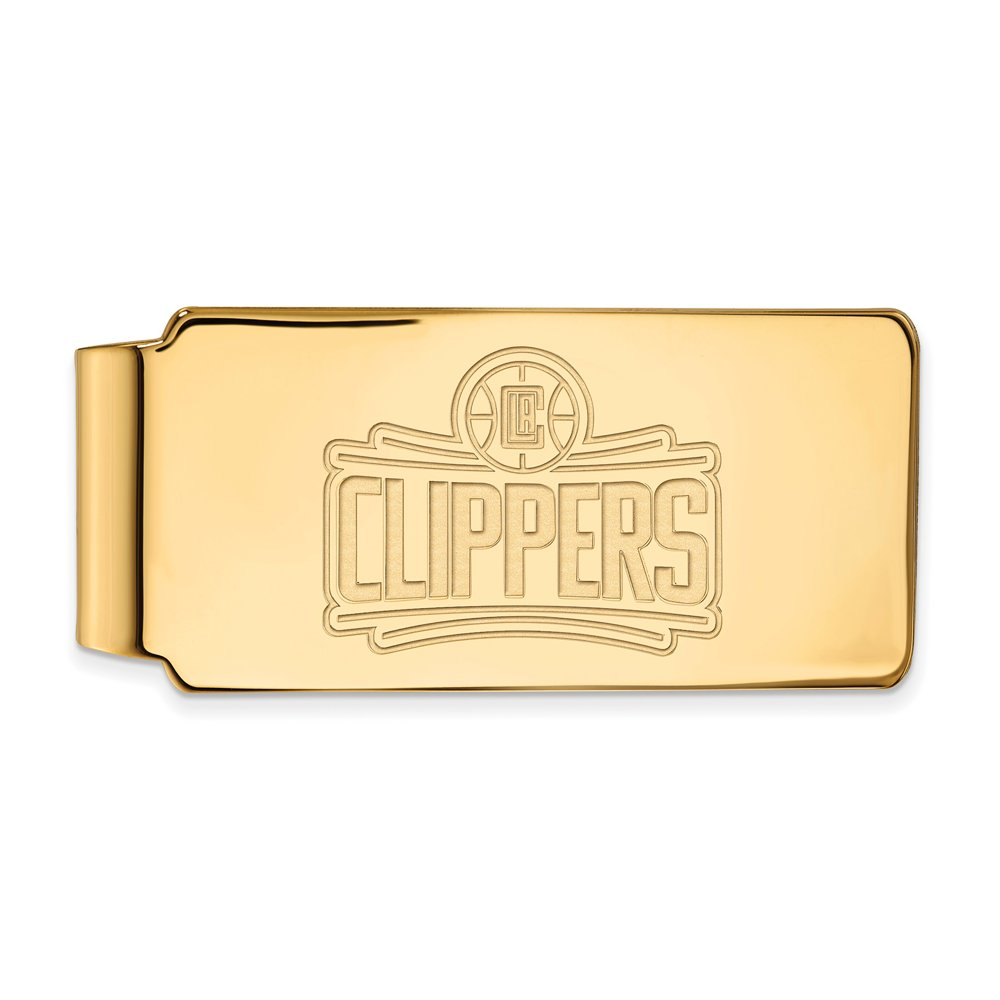 NBA Los Angeles Clippers Money Clip in 14K Yellow Gold