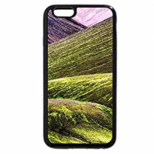 iPhone 6S / iPhone 6 Case (Black) fantastic mountain bases
