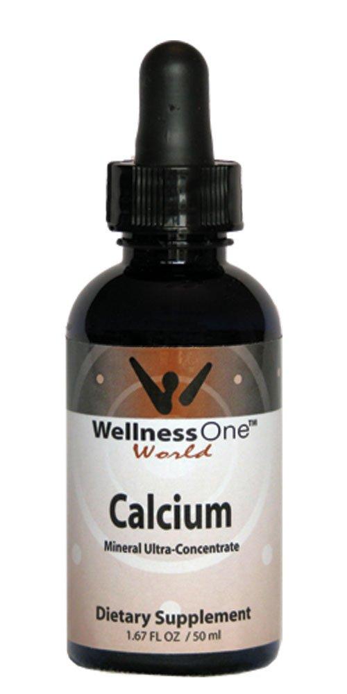 Calcium - Premium Liquid Mineral (100 days at 50mg Per 10 Drop Serving) 50 ml bottle