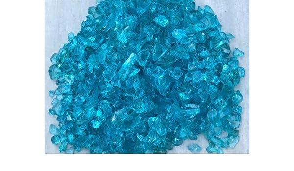 Miniature FAIRY GARDEN Terrarium ~ SILVER GLASS GEMS Crushed Decorative Chips