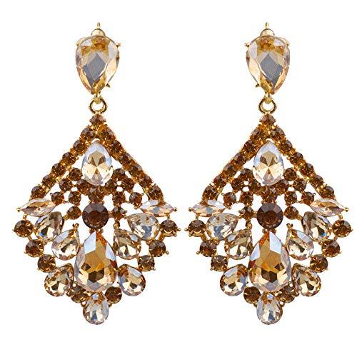 Vintress Luxury Diamond Earrings, Geometry