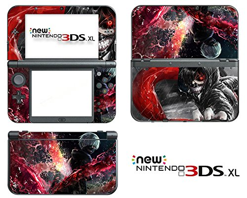 Vanknight-Vinyl-Decals-Skin-Sticker-Anime-Tokyo-Ghoul-Kaneki-Ken-Touka-for-the-New-Nintendo-3DS-XL-2015-by-Vanknight
