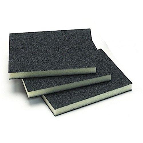 Mirka 1351-100 3.75''x 4.75''x0.5'' Double Sided Abrasive Sponge 100G (10 per bx)