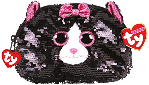 TY Fashion Flippy Sequin Accessory Bag - Kiki The Cat (8 - Fashion Bag Accessories