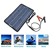 ECO-WORTHY-12-Volts-10-Watts-Portable-Power-Solar-Panel-Battery-Charger-Backup-for-Car-Boat-with-Alligator-Clip-Adapter