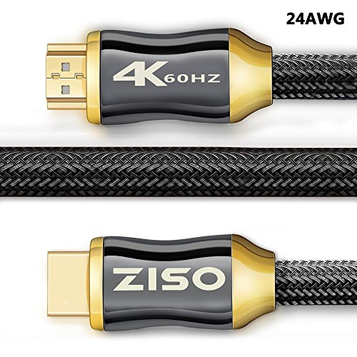 Professional Series Hdmi Cable - HDMI 2.0 Cable 6 ft- Professional Series 4K High Speed HDMI 2.0 Ready (4K 60Hz 4:4:4) HDR HDCP 2.2 - Ethernet/Audio Return Channel,Gold Plated Connectors Ultra HD (18Gbps) (24AWG(6 FEET))
