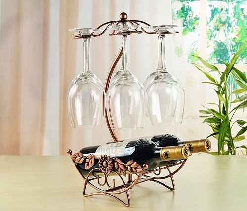 Olayer Wine Rack Home Decoration Modern Living Room Wine Cabinet Wedding Decor Gift Wine Glass Holder Review