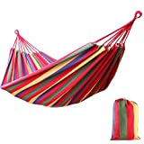 Ezyoutdoor 120KG Hammock Air Chair Hanging Swinging Large Cotton Fabric for Camping Backpacking Hunting Hiking Biking Canoeing Kayaking Sailing Climbing Traveling