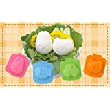 vanki Egg plate 6pcs set Star Fish Car Heart Rabbit Bear Shape