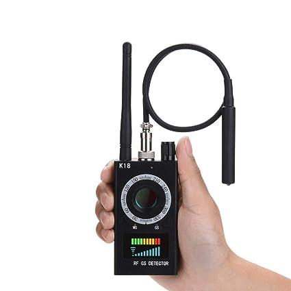 Amazon.com : Spy RF Detector Wireless Bug Detector Signal for Hidden Camera Laser Lens GSM Listening Device Finder Radar Radio Scanner Wireless Signal Alarm ...