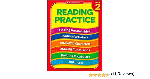 Amazon.com: 2nd Grade Reading Practice (Practice (Scholastic ...
