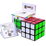 CuberSpeed Moyu Mofang Jiaoshi 3x3 Black Magic cube Cubing Classroom MF3 Black 3x3x3 (Guanlong Plus)Speed cube