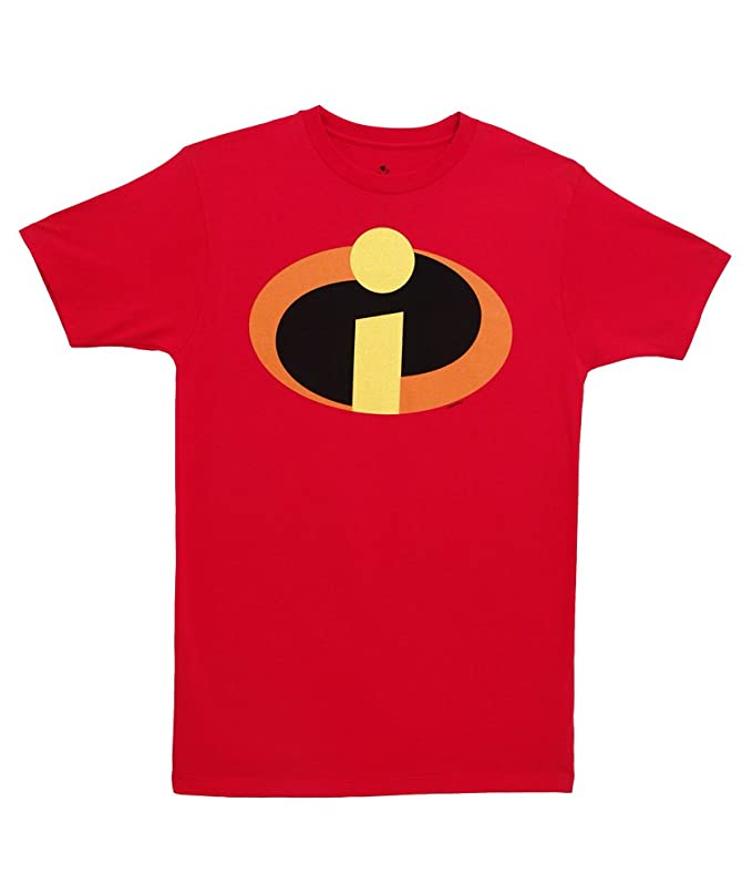 Amazon Disney Pixar The Incredibles Logo T Shirt Clothing