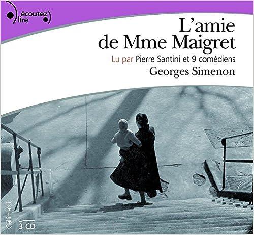 [Livre Audio] Georges Simenon - L'amie de Madame Maigret [2008] [mp3 192kbps]