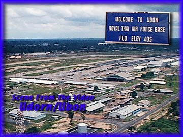 Ubon And Udorn Airbases, Thailand, Vietnam War