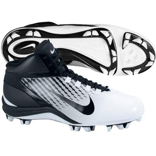 Nike Mens Speedlax 3 Lacrosse Klotsar - Vit / Svart