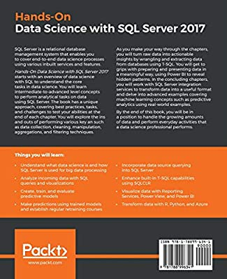 Hands-On Data Science with SQL Server 2017: Perform end-to